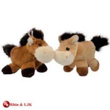 Personalizado mini caballo de peluche de diseño OEM