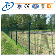 Square Post Curved Welded Wire Mesh Pagar