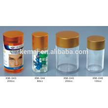 Pille Flasche Tablette Flasche Schraube Kappe Flaschen Plastikflasche leer