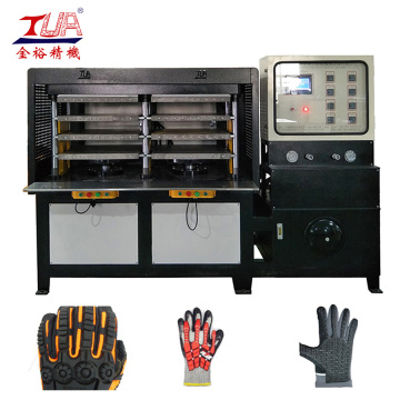 Material usable KPU Glove Heating Press Machine