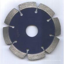 Cuchilla de diamante segmentada de corte en seco