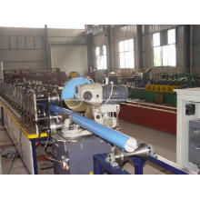 Máquina de formação de rolo de downspout de tubos de água da chuva