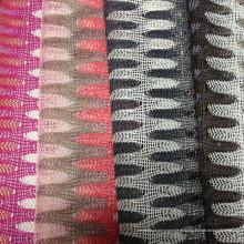 Fancy Fios, Thick Needle Knitting, Warp fios-tingidos tecidos jacquard
