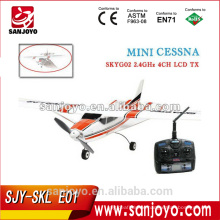 3 channel EPO rc mini cessna