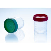 CE Approved 90ml Specimen Container, PP