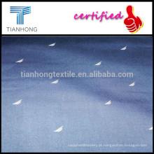 Barco de Material/vela NAUTICA personalizado Marinha reactivo impresso Weave liso têxtil/roupa de cama de tecido tecidos para tela impressa
