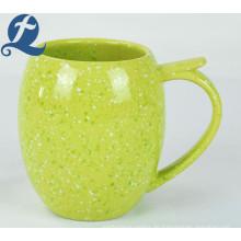 Hochwertiges Werbegeschenk Kundenspezifischer Haushalt Wassertrommelgriff Kaffee Mup