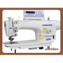 Wd-7770d High Speed Straight Direct Drive Lockstitch Machine with Auto Vertical Edge Trimmer