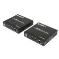 Sur un seul amplificateur HDMI Cat5e / CAT6 de 100 m (4K)