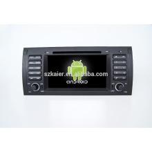 Quad core! Voiture dvd avec lien miroir / DVR / TPMS / OBD2 pour 7 pouces écran tactile quad core 4.4 Android système E39