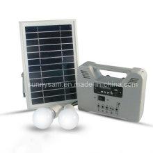 Lámpara con energía solar Sistema de iluminación con ahorro de energía solar para el hogar