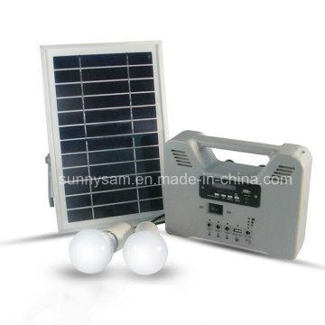 Lumière actionnée économiseuse d'énergie solaire de système d'éclairage de maison actionnée par lampe solaire