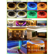 Lampu Natal Waterproof Dc12v 24v 3014 led strip