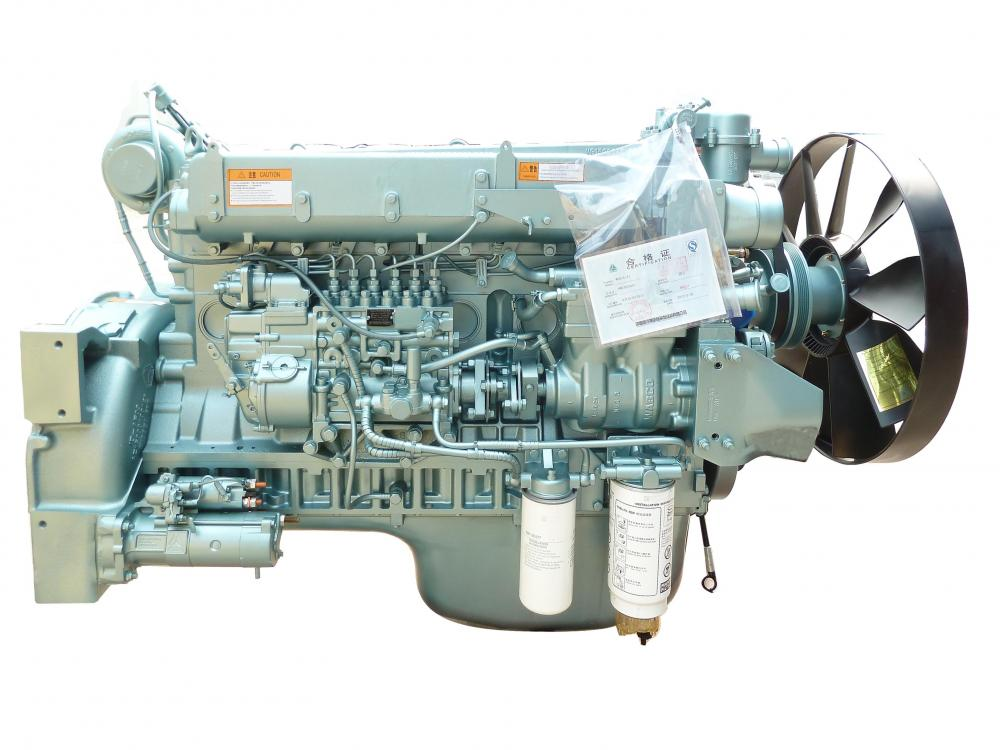 Wd615 Euro2 Engine HOWO 371ps WD615.47 Euro2 engine assembly