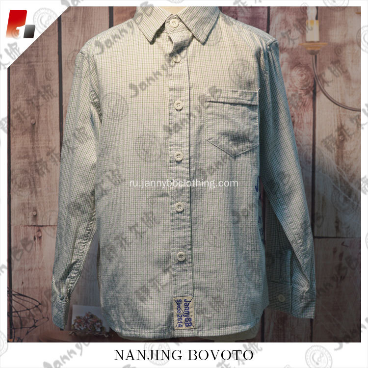 new style fashion boy's shirt custom design polo T-shirt
