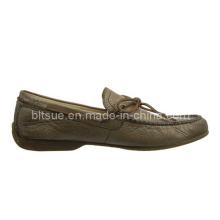 Zapatos de trabajo de cuero suave del barco