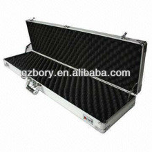 Hard Gun Case with Aluminum Frame, Top and Bottom with Sponge, Perfect for Long Gun