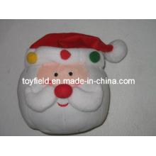 Weihnachtskissen Plüsch gefüllte Weihnachtsmann Plüsch Kissen