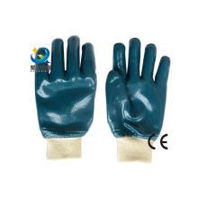 Luvas azuis do nitrile, trabalho protetor, luvas de trabalho da segurança (N6033)