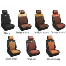 Car Seat Cover Flat Four Season PU Leather Cushion Black