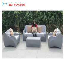 Nouveau sofa en osier de meubles de rotin de Desige pour le jardin (CF1470-A)