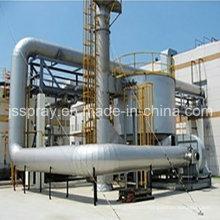 Incinérateur catalytique de gaz d'échappement de Rto avec deux lits
