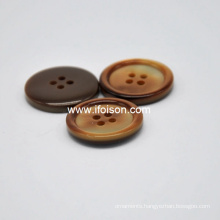 Imitation shell button
