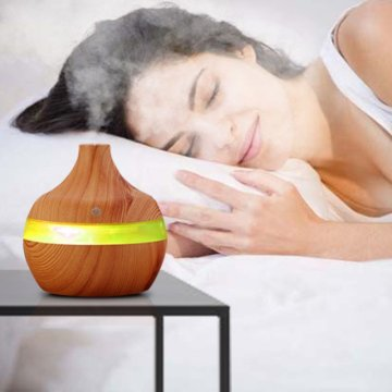 300ml Spa Ultrasonic Aroma LED Essential Oil Diffuser
