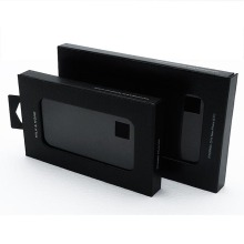 Customized for Gift Box With Window Black paper box with clear window export to Russian Federation Wholesale