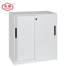 2018 новой конструкции половину высоты металлическая раздвижная дверь шкафа с полками