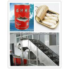Máquina de procesamiento de pescado / latas de procesamiento de pescado máquina