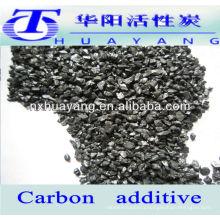 low nitrogen carbon raiser/carbon additive for cast steel
