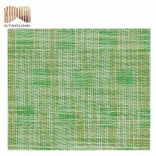 высокое качество дешевые ПВХ наружная шестиугольная сетка ткань