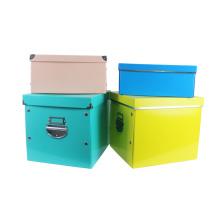 Caixas de armazenamento corrugado multiuso APEX com tampas