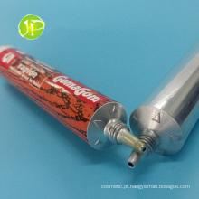 Tubos de cola com ponta bico alumínio tubos bisnagas Ab tubos de borracha para tubos cola