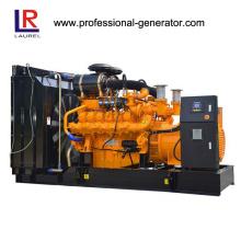 720kw 900kVA diesel gerador de gás combinado gerador 60Hz