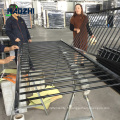 panneau décoratif de clôture en aluminium de qualité pliant l'usine d'animal familier soudé