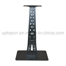 Cast Iron Table Leg with Special Eiffel Tower Shape for Restaurant Furniture Table Top (SP-MTL222)