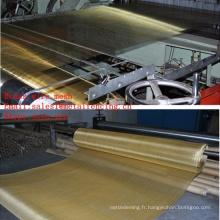 Treillis métallique en laiton