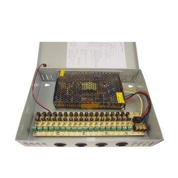 240W 12V 20A 18CH Caja de fuente de alimentación CCTV