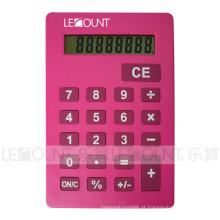Várias cores atraentes Calculadora de tamanho A4 com suporte (LC687B-A4)