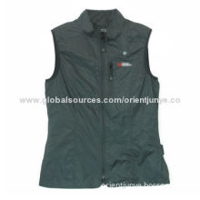 Women's heated vest, adjustable waist, suitable for maximum controlled warmth