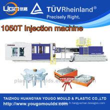 Machine de fabrication de table en plastique / Machine de moulage par injection plastique 1050T