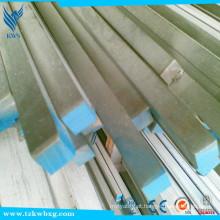 GB702 pickled e TR AISI 201 diâmetro 12 milímetros * 12 milímetros barra quadrada de aço inoxidável