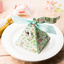Wedding candy display paper box