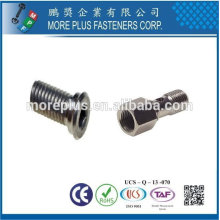 Taiwan Stainless Steel Copper Brass Aluminum Hollow Screw Hardware Manufacturer