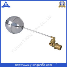Brass Float Ball Valve with Stainless Ball (YD-3014)