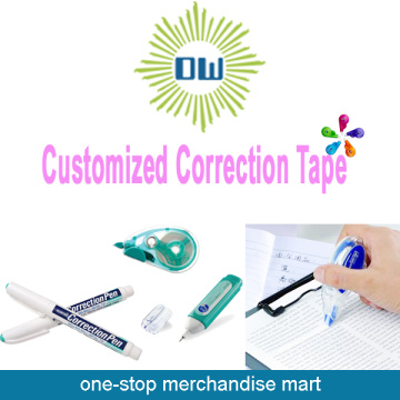 Customized Cheap Colored Office Correction Tape