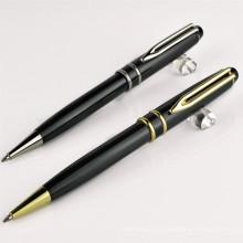 Clips de stylo en métal pour le logo libre, stylo de boule de torsion en métal de haute qualité