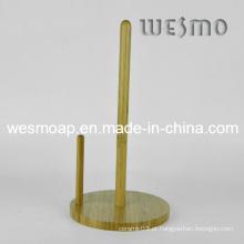 Bambu guardanapo suporte de papel rack (wbb0337b)